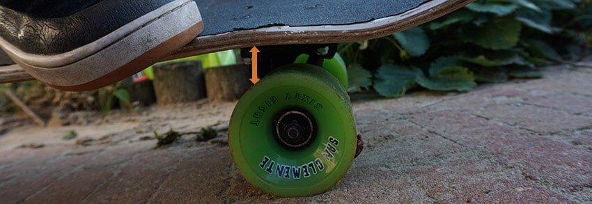 safe clearance skateboard no wheel bite