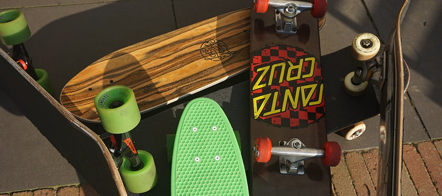 collection of skateboard setups for beginners