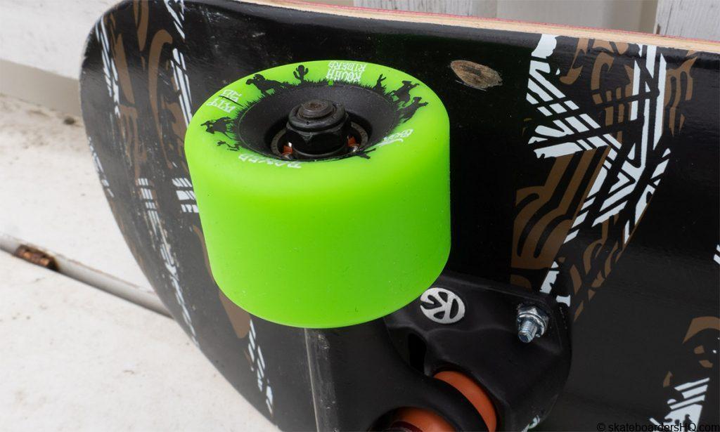 custom cruiser trick setup close up