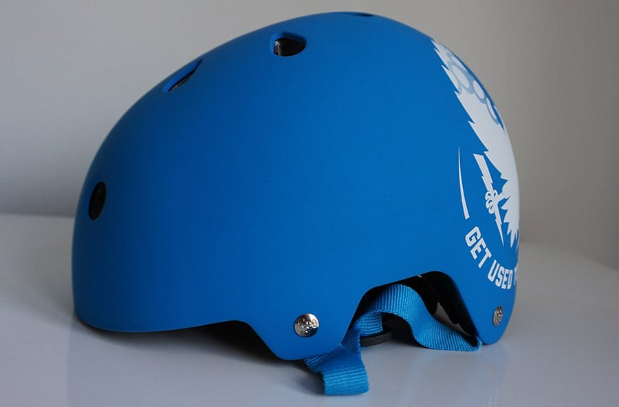 triple eight helmet blue