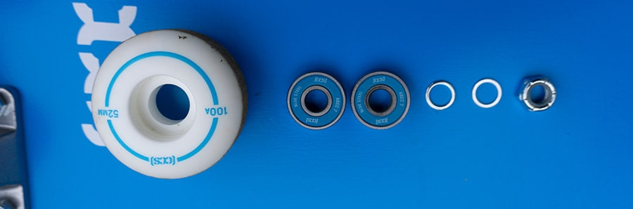 CCS skateboard wheels and bearings