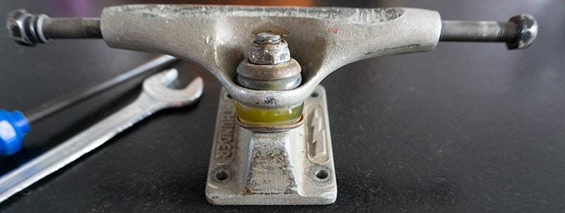 old skateboard truck
