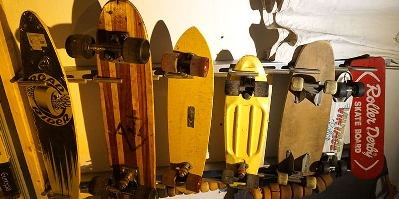 skateboards from different eras
