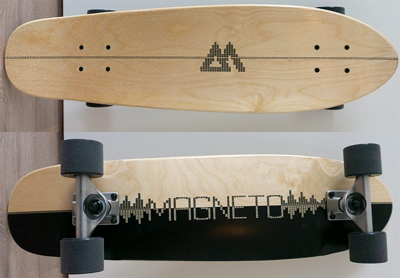magneto deck top and bottom