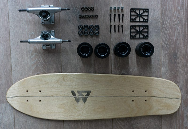 magneto mini cruiser disassembled