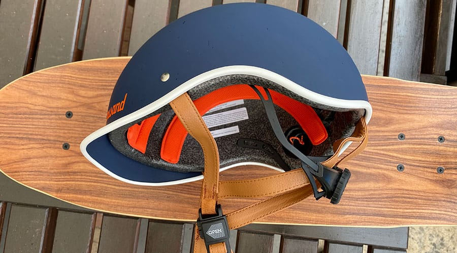 thousand helmet side view