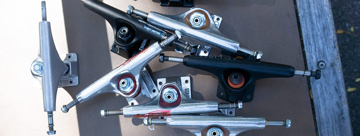 collection of the best skateboard trucks