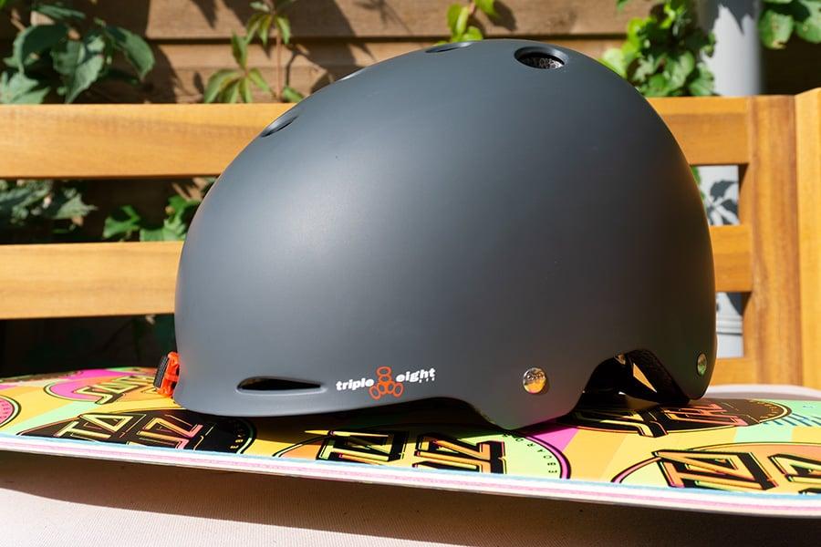 Triple 8 Gotham skateboard helmet