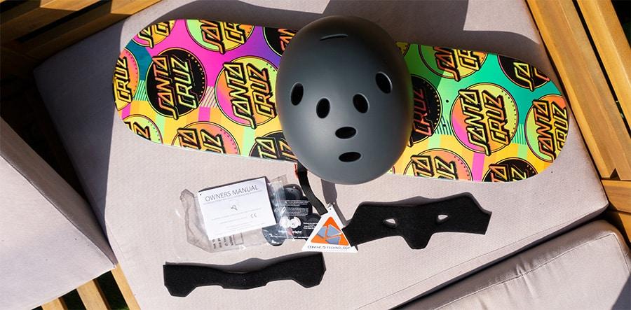 triple 8 helmet and extra padding