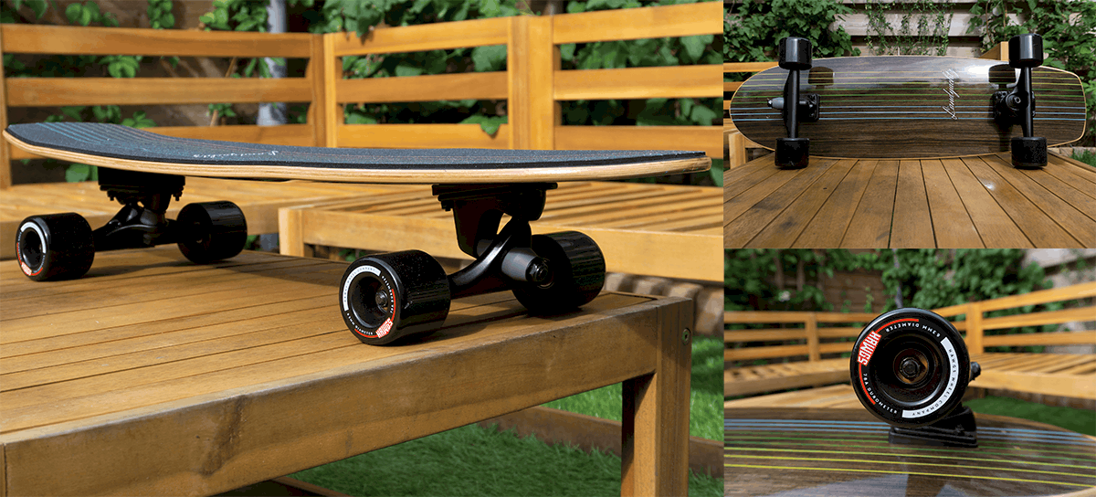 Landyachtz Surfskate from different angles
