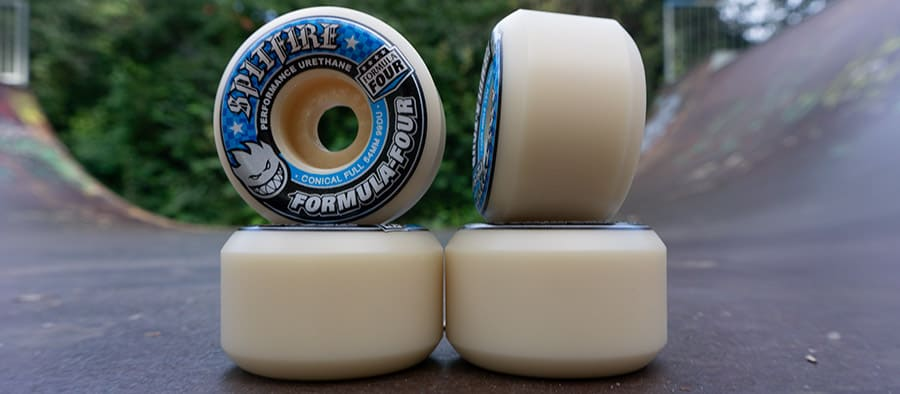 spitfire formula four conicall full skateboard wheels