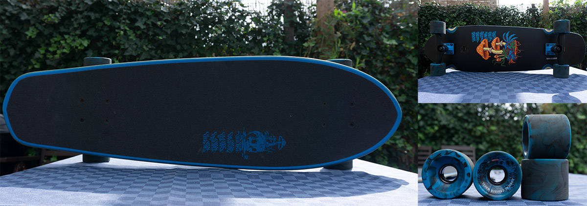 Globe Cruiser Longboard from different angles