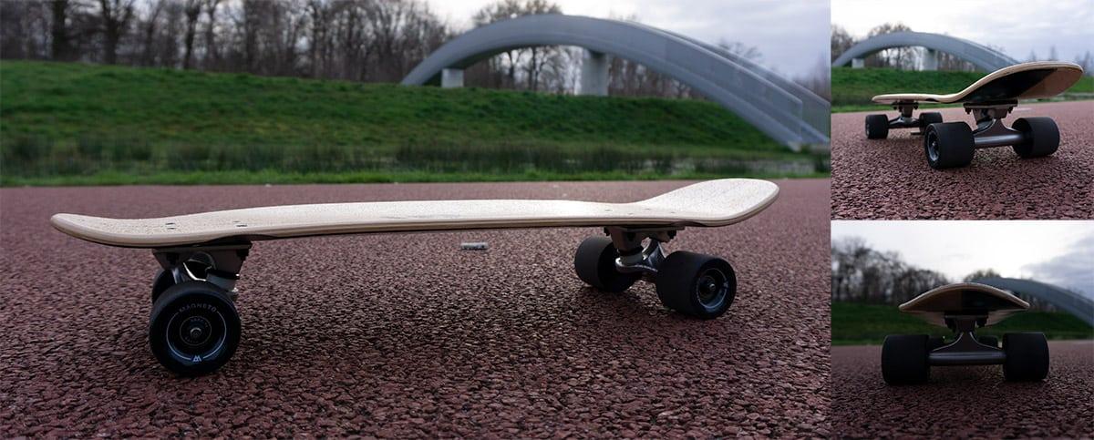 Magneto mini cruiser longboard