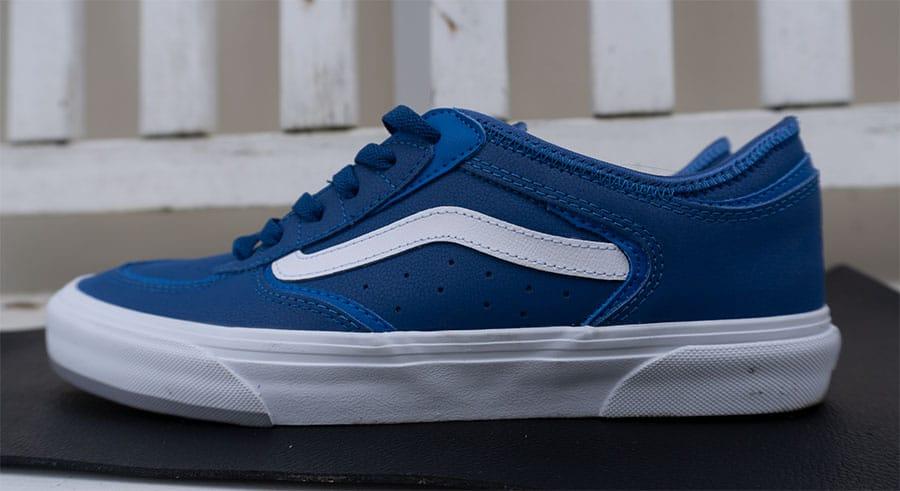 Vans classic skate shoe side