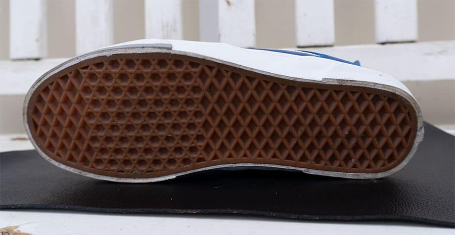 Vans skate shoe sole waffle pattern
