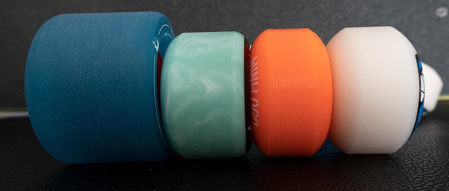 skateboard wheels differrent sizes
