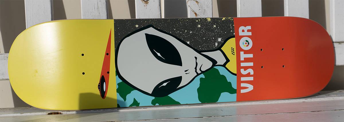 Alien workshop skateboard deck