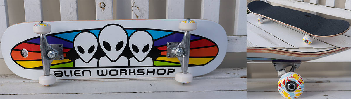 Alien workshop skateboard