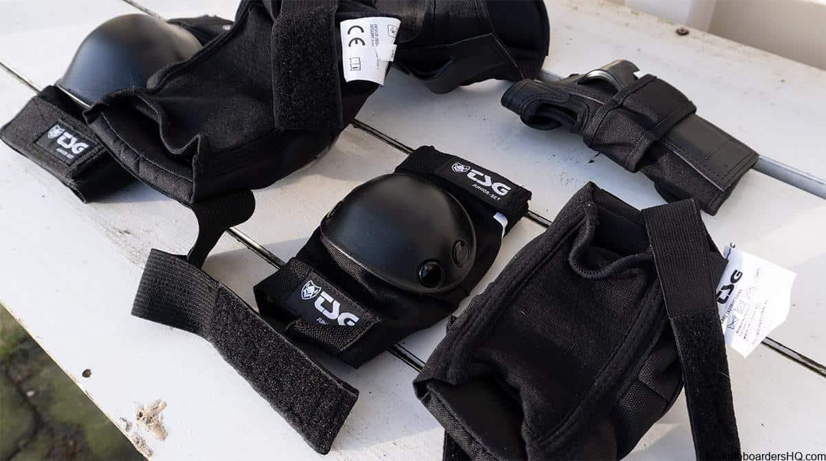 TSG protective gear for kids skateboard
