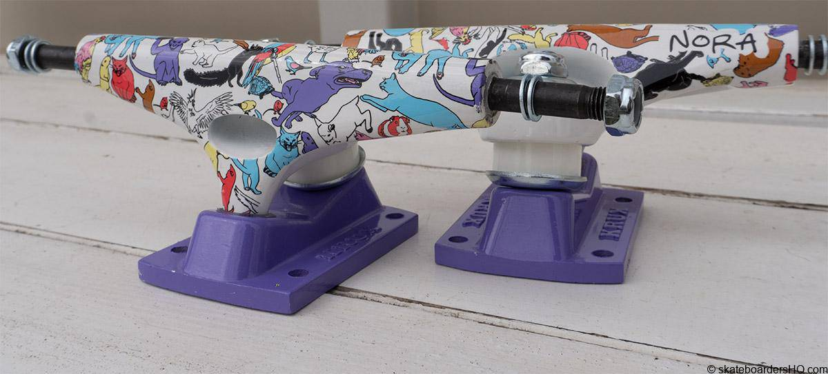skateboard trucks for girls