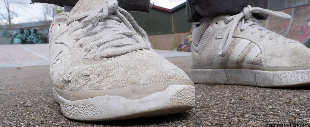 Adiadas 3st skate shoes toe wear