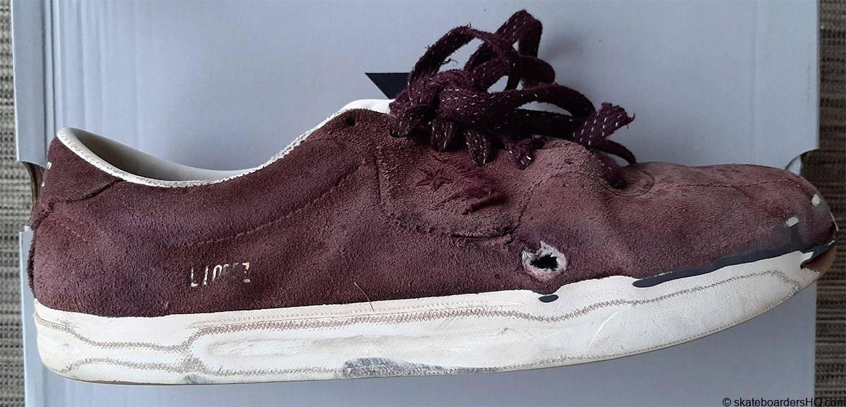 Converse louie lopez work skate shoe