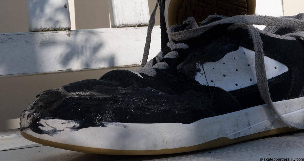Etnies veer skate shoes repaired