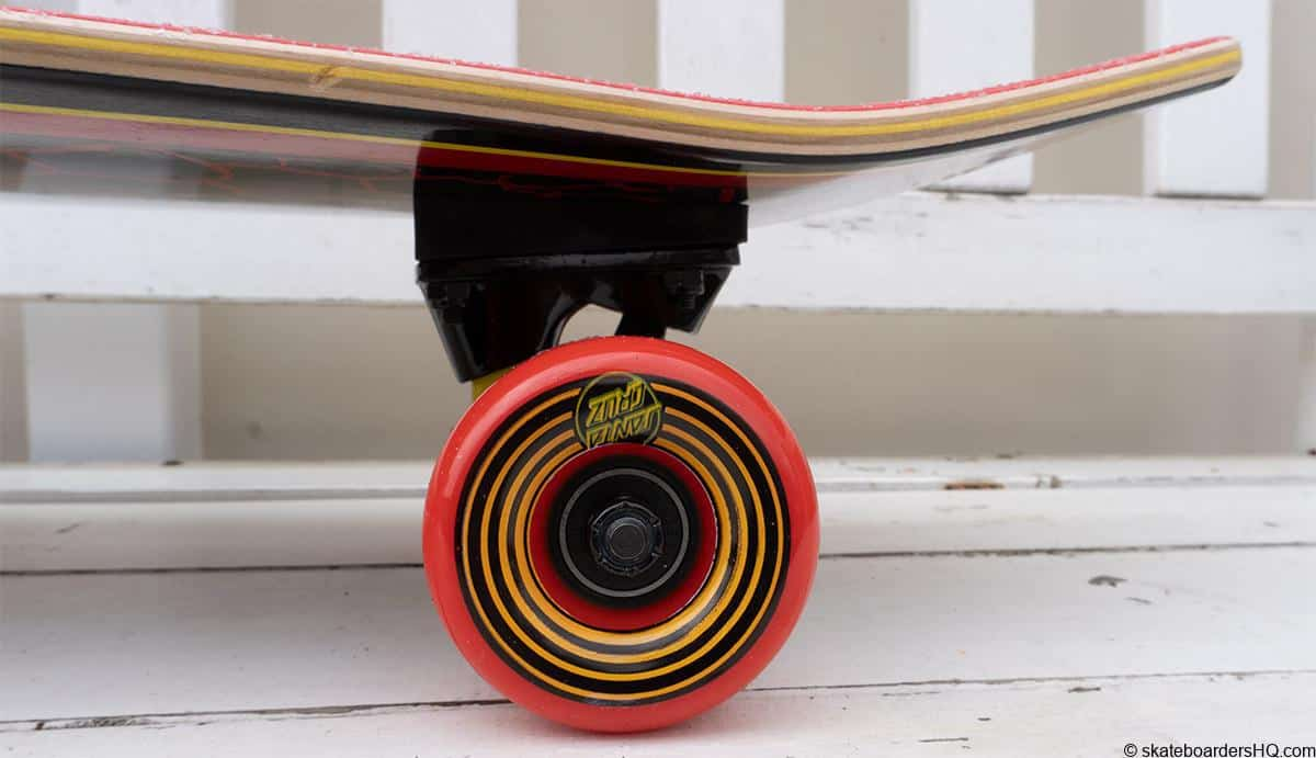 Santa Cruz Flame dot wheels