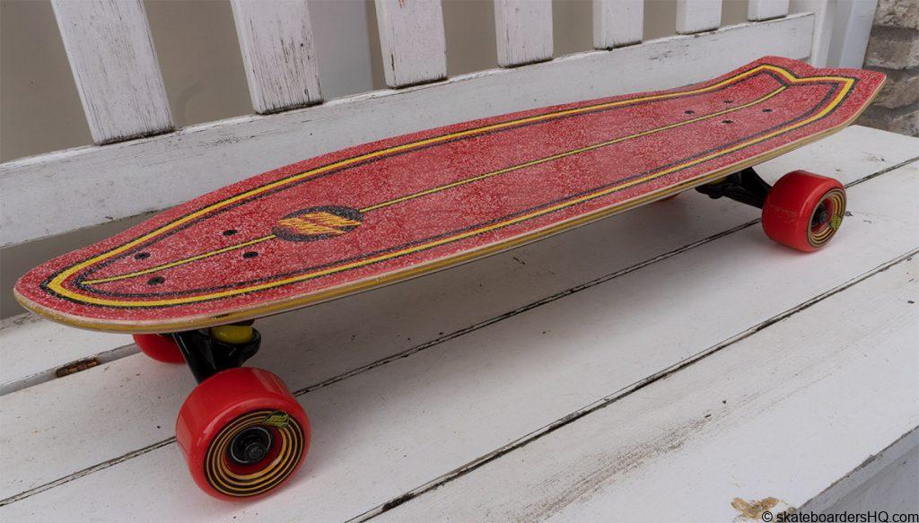 Santa Cruz cruiser skateboard