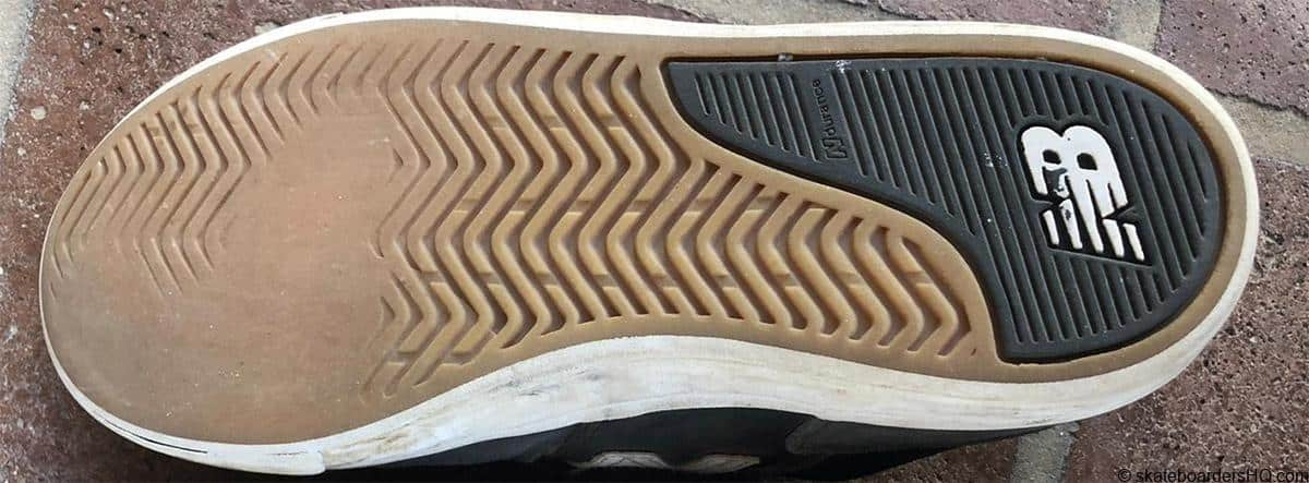 new balance skate shoes sole wear