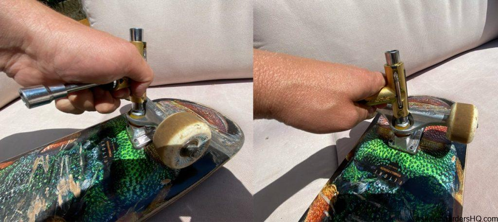 How to fix a wobbly skateboard
