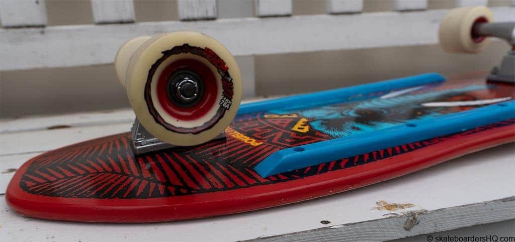 Old school skateboard assembled