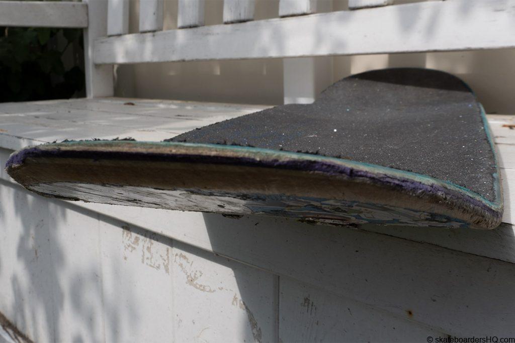 razor tail on a skateboard