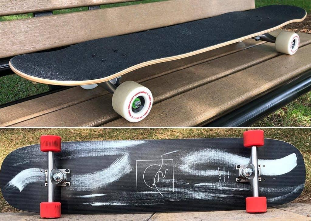 Zenit Marble longboard setups