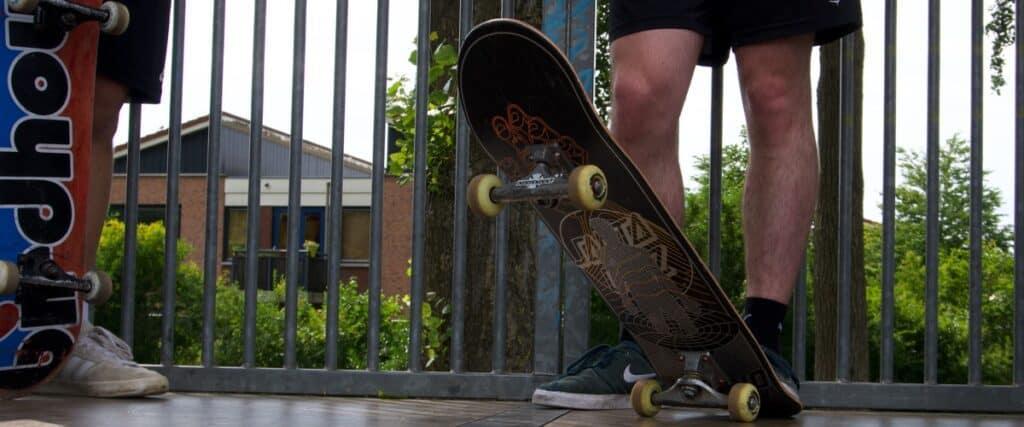 Santa Cruz VX skateboard deck
