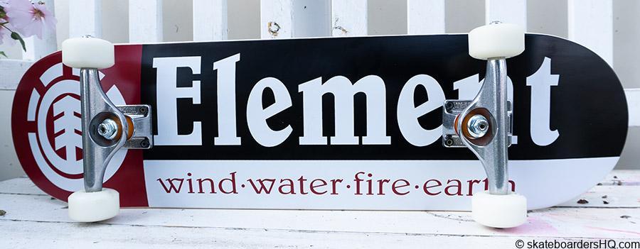 element skateboard independent trucks